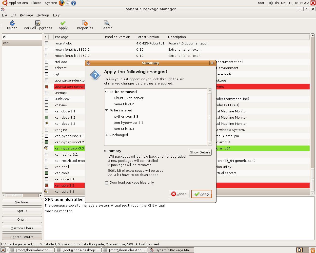 Backport Intrepid Xen 3 3 Hypervisor to Ubuntu Hardy Dom0 (2 6 24-21