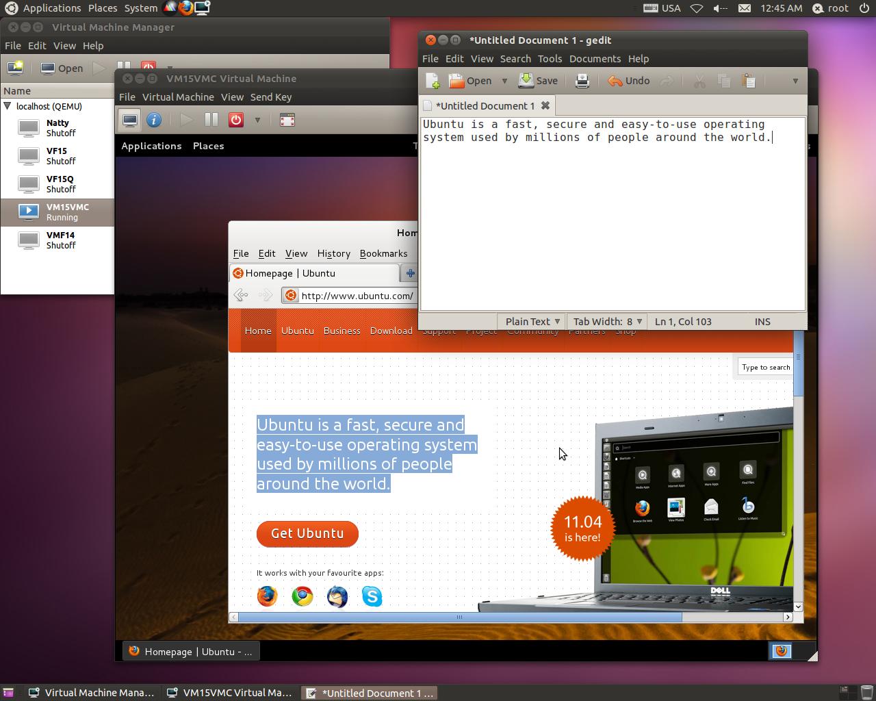 kvm ubuntu